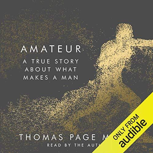 Amateur audiobook cover art