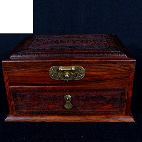 Viet Nam mahonie juwelendoos Lao rode palissander collectie doos en maken massief hout opbergdoos Make-up hout opbergdoos armband sieraden doos