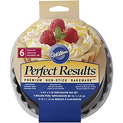 Wilton Perfect Results 4.75 Inch Round Tart/Quiche Pan