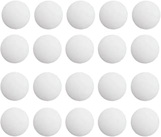 Newbested 20PCS 4CM(1.6Inch Wall Protectors Self Adhesive Door Handle Bumper Guard Stopper Rubber Stop for Shield Plates Round White Self Adhesive Wall Guards Stopper Door Handle Bumpe, White.