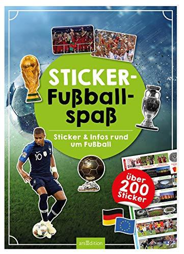 Sticker-Fußballspaß: Sticker & Infos rund um Fußball mit über 200 Stickern
