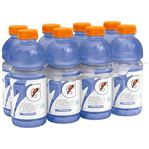 Gatorade Series 02 Perform Drink, Frost Riptide Rush, 20 Fl Oz (Pack of 8)