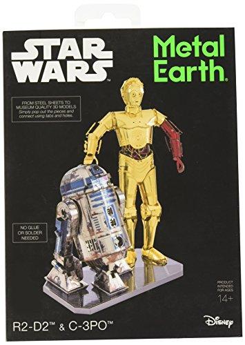 "HQ Windspiration MMG276 502667\"" Star Wars R2-D2 und C-3PO Konstruktionsspielzeug"
