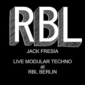 Live Modular Set at RBL Berlin
