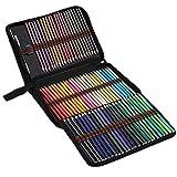 72 lápices lápices de la acuarela de colores Conjunto de Libros para colorear Capas de mezcla Dibujo para Adultos Niños Profesionales de la oficina Suministros