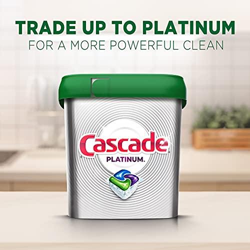 Cascade Complete ActionPacs Dishwasher Detergent, Fresh Scent, 78 Count