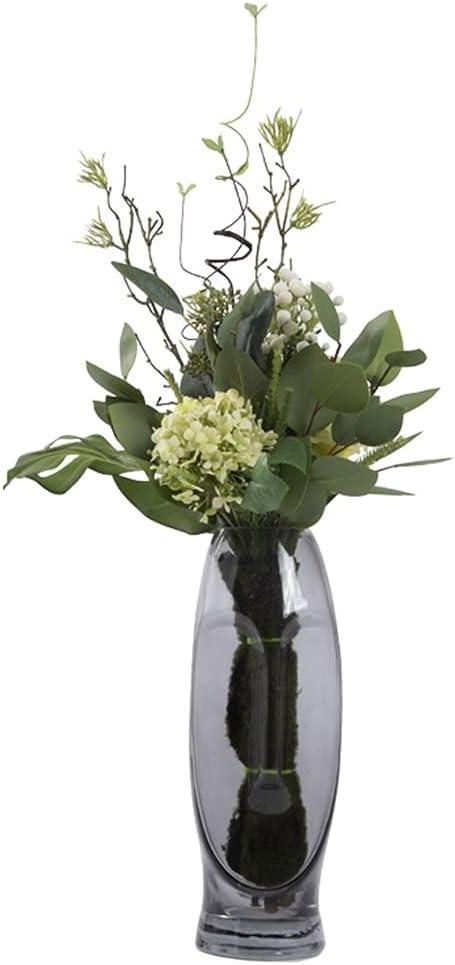 KGDC Artificial Year-end annual account Flowers Flower Liv Max 67% OFF Bouquet Eucalyptus