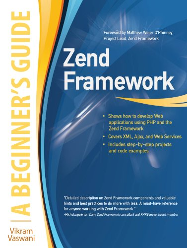 Zend Framework, A Beginner\'s Guide (English Edition)