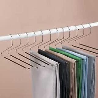 WALLER PAA Slacks Hangers Open Ended Easy Slide Organizers 12 Piece Set NEW Pants