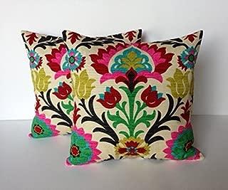 That Dutch Girl Two Waverly Santa Maria Desert Flower Pillow Covers, Cushion, Decorative Throw Pillow, Decorative Pillow, Accent Pillow, 18x18 Pillow