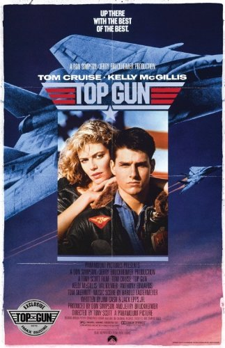 "Top Gun Imax - 11""X17"" Original Promo Movie Poster Tom Cruise 2013 Rerelease"