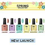 Spring Collection 2019 - Juego de 6 esmaltes de uñas profesionales UV/LED de calidad preimum de Kiki London™