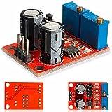 ILS - NE555 frecuencia de impulsos de Ciclo de Trabajo Ajustable Módulo Destornillador Cuadrado señal de Onda Generador Motor Paso a Paso