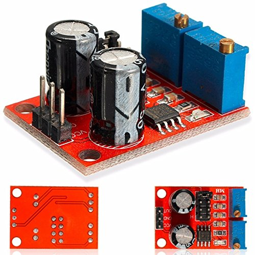 CoCocina 20Pcs Ne555 Pulse Frequency Duty Cycle Adjustable Module Square Wave Signal Generator Stepper Motor Driver