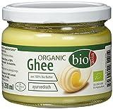 BIOASIA Bio Butter Ghee, Butterschmalz zum Braten, Frittieren, Kochen und Backen, Butterreinfett für die gesunde Ayurveda-Küche oder Paleo-Diät, 2 x 250 ml