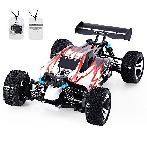 Hobby-Ace WLtoys A959 RC Car 1:18 Remote Control Electric Vehicle 2.4G 4WD Off Road Independent Suspension Buggy Radio Control RTR Red