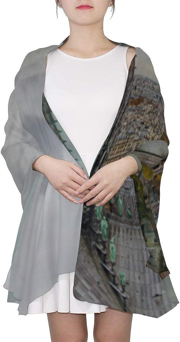 Fashion Scarf For Women Marvellous Notre Dame De Paris Shawl Wraps Mens Scarfs Fashion Thin Lightweight Print Scarves Summer Scarf Women Fun Scarfs For Women