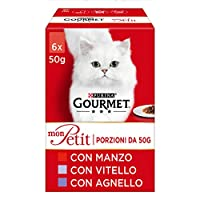 Pack of 48 bags of 50 g Complete food for adult cats Gives your cat the pleasure of a soft and delicate feeling Keep your cat in a healthy and slim physical condition