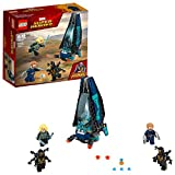 LEGO Super Heroes Ataque de la nave de los Outriders, set de construcción de juguete para recrear las aventuras de los...