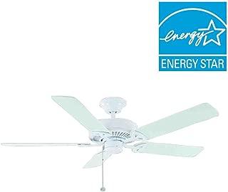 Farmington 52 in. Matte White Ceiling Fan