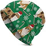 Rough Collie Christmas Holiday Summer Beanie para Hombres y Mujeres - Slouchy Lightweight Fashion Hat