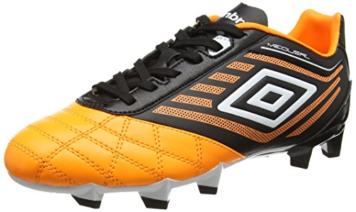 UMBRO Herren Medusæ Club Hg Fußballschuhe, Orange (Epy Orange Pop/White/Black), 44.5 EU