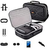 SARLAR Fashion Travel Protective Case for Oculus Quest VR Gaming Headset and Touch Controllers Accessories Carrying Bag,Includes Multiple Oculus Quest Accessories wireless gaming headset Apr, 2021