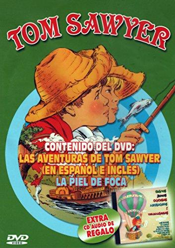 Las Aventuras de Tom Sawyer, La Piel de Foca + CD Regalo: Cuentos, Juegos, Canciones, Adivinanzas y Trabalenguas [DVD]