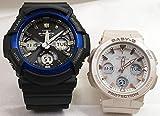 カシオCASIO 正規品 腕時計 G-SHOCK ペアウォッチ 純正ペアケース入り ジーショック&ベビージー 2本セット GAW-100B-1A2JF BGA-2510-4AJF