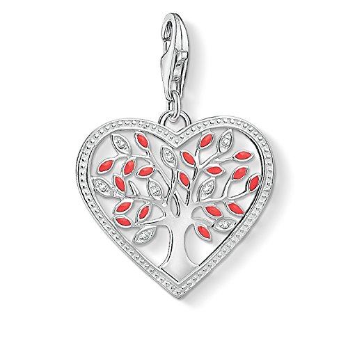 Thomas Sabo Damen Charm-Anhänger Tree of Love-Herz 1504-041-27