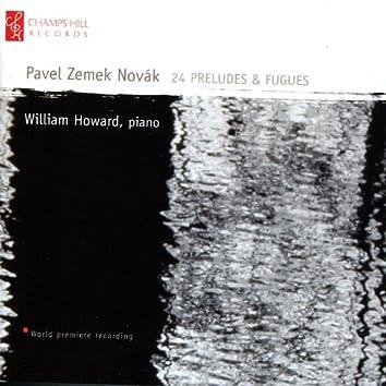 Novák: 24 Preludes & Fugues