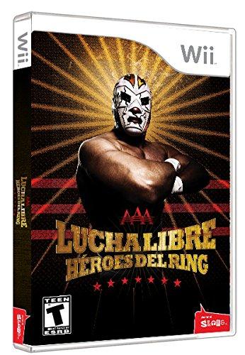 Konami Lucha Libre AAA: Heroes of the Ring, Wii Nintendo Wii Inglés...