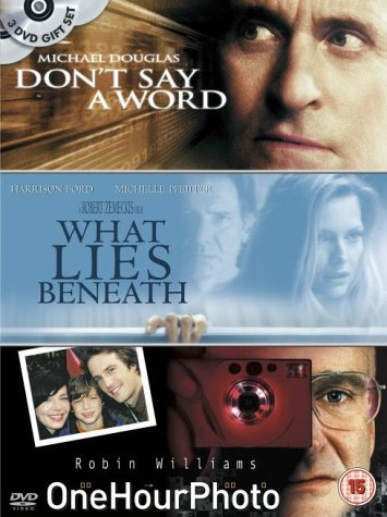 Don't Say a Word/One Hour Photo/What Lies Beneath [UK Import]