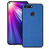 Ebogor pour Huawei Honor View 20 Cas, Texture de Tissu Antichoc PC + TPU Coque de Couverture de...