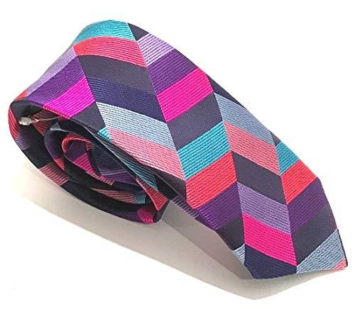 Van Buck -  Cravatta - Uomo Rosa rosa Taglia unica