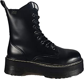bf83c1e0 COOLWAY Abby, Botas Militares para Mujer, Negro (Blk 000), 42 EU