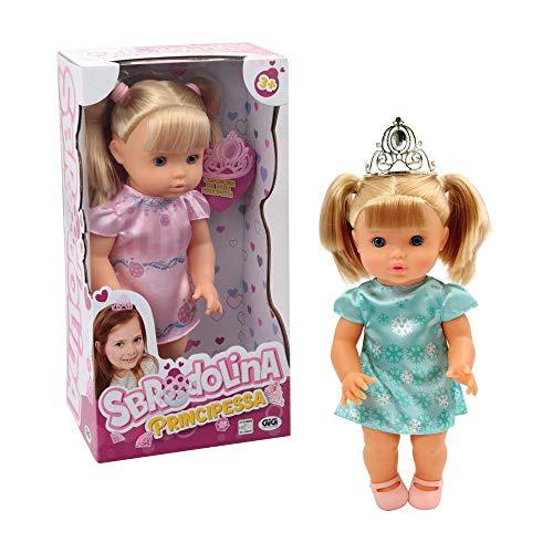 Giochi Preziosi - Sbrodolina Principessa con Tiara, BRD07000