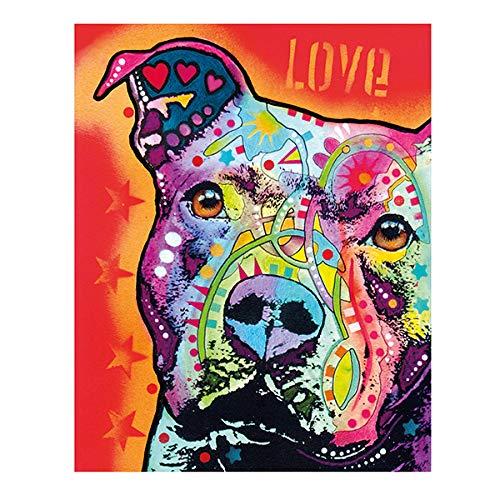 Aquarell Katze Leinwand Malerei moderne abstrakte tierische Ölgemälde auf Wand Kunst Poster und Print für Kinderzimmer Wand Home Decor-in Malerei & Kalligraphie aus einem No Frame 13X18 cm XQ-104-3