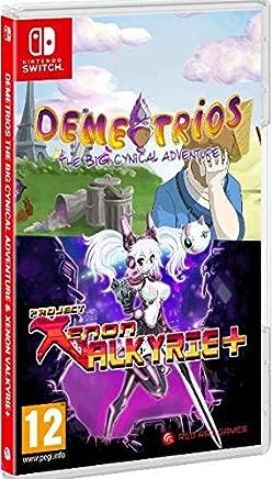 Demetrios The Big Cynical Adventure & Xenon Valkyrie Nintendo Switch