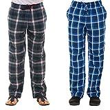 Twist Men's Cotton Checked Pyjama Pant (Multi-Coloured, Large)