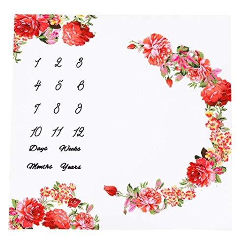 Flores gr/ö/ßenangepasste Manta Bragas de pa/ñales 5/unidades algod/ón org/ánico Talla:S 3-7 kg