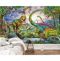 3D壁紙ポスター恐竜カスタム大規模な壁紙の壁紙3Dテレビの背景リビングルームの写真の壁紙3Dルームの壁紙-450X300cm