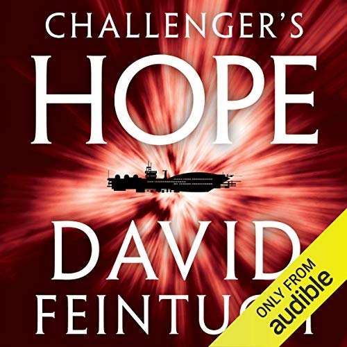 Challenger's Hope  audiobook cover art