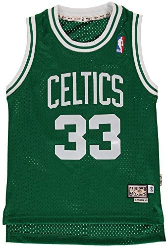 Amazon.com : OuterStuff Youth Larry Bird Boston Celtics Green ...