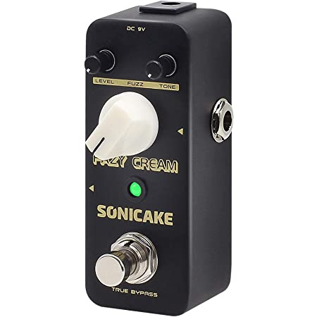 SONICAKE Fazy Cream True Bypass Vintage Fuzz Guitar Effects Pedal
