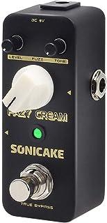 SONICAKE Fazy Cream True Bypass Vintage Fuzz Guitar...