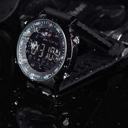 Orologio da Polso Smartwatch Orologi Meccanici Zaffiro Orologio Al Quarzo con Uomo Multifunzione Nuovo Sport Orologio Intelligente Bluetooth a Tenuta Stagna Luminoso Forze Speciali Selvaggio Alpinism