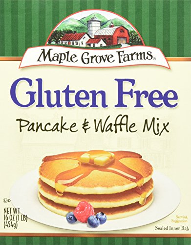 Maple Grove Farms Natural Pancake and Waffle Mix 16 Ounce  8 per case