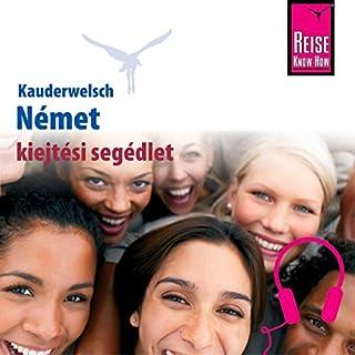 Kauderwelsch kiejtési segédlet Német - Szóról-Szóra Titelbild