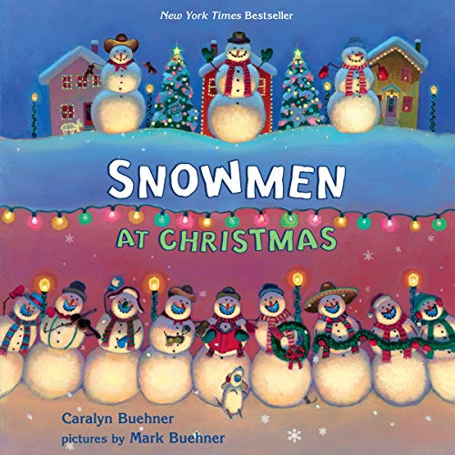 Snowmen at Christmas audiobook cover art